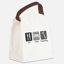 Eat Sleep Prospecting Canvas Lunch Bag