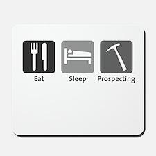 Eat Sleep Prospecting Mousepad