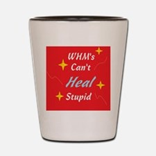 Can't Heal Stupid Shot Glass