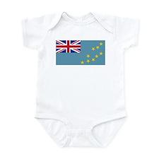 Tuvalu Flag Infant Bodysuit