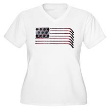 hockeytrans3 Plus Size T-Shirt