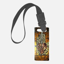 Symbol of Trust Stained Glass Pa Luggage Tag