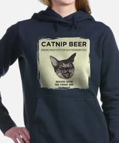 Crazy Catnip Beer light Hooded Sweatshirt