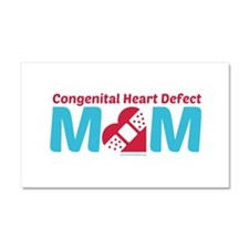 CHD MOM Car Magnet 20 x 12