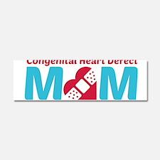 CHD MOM Car Magnet 10 x 3