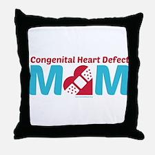 CHD MOM Throw Pillow