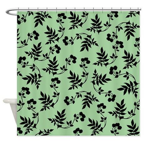 Sea Foam Green Design Shower Curtain By Prettylittleweddings