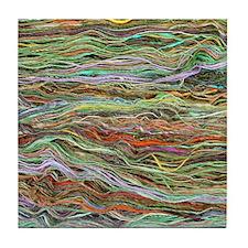 Yarn Tile Coaster