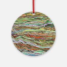 Yarn Ornament (Round)