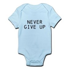 NEVER GIVE UP Body Suit