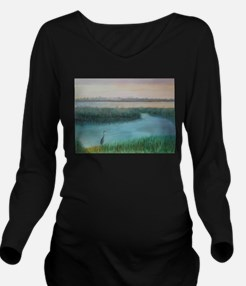 MATANZASRIVERMRNG Long Sleeve Maternity T-Shirt