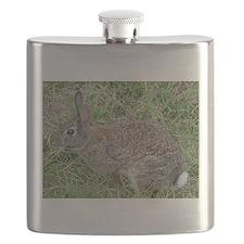 Cotton Tail Rabbit Flask