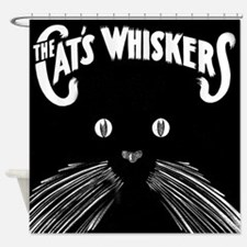 The Cats Whiskers Shower Curtain