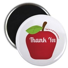 Great Teacher, Red Teacher Appreciation Apple Magn