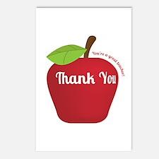 Great Teacher, Red Teacher Appreciation Apple Post