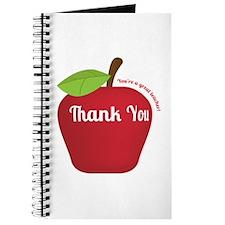 Great Teacher, Red Teacher Appreciation Apple Jour