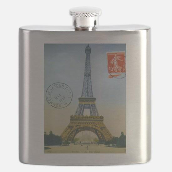 VINTAGE EIFFEL TOWER Flask