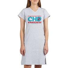 CHD Awareness Women's Nightshirt