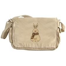 White Hare Messenger Bag