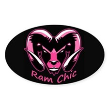 Pink Ram It Decal