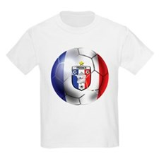 French Soccer Ball T-Shirt