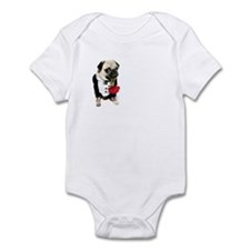 Love Pug Infant Bodysuit