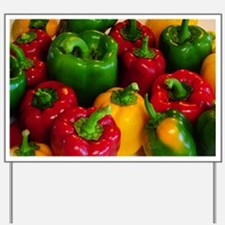 Bell Peppers Yard Sign
