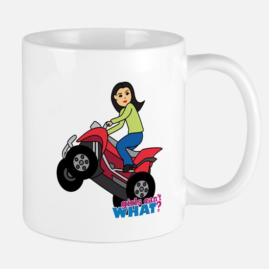 ATV Woman - Medium Mug