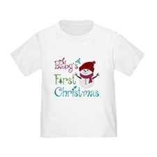 Adorable Babys First Christmas T