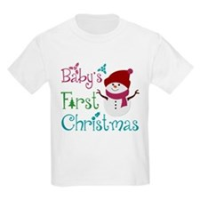 Adorable Babys First Christmas T-Shirt
