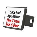 I once had HOPES DREAMS..Now I have Kids beer Hitc