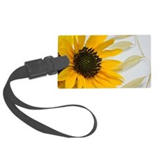 Sunflower with Wild Oats Luggage Tag