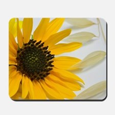 Sunflower with Wild Oats Mousepad