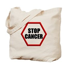Stop Cancer Tote Bag