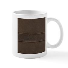 Leather Brown Seam Mugs