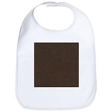 Leather Brown Bib