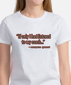 Listen To Gymnastics Coach T-Shirt