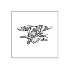 Navy SEAL - UDT Trident Rectangle Sticker