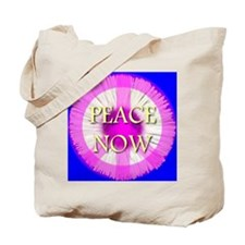 Peace Now Daisy Fleabane Tote Bag