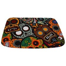 Day Of The Dead Bathmat