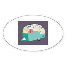 Christmas Camper Decal