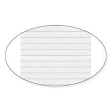 Notebook Paper Lined Decal