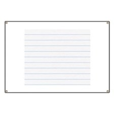 Notebook Paper Lined Banner