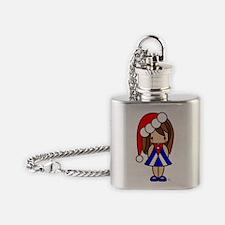 Ivee Cubanita Flask Necklace