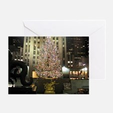 Christmas In The City Greeting Cards