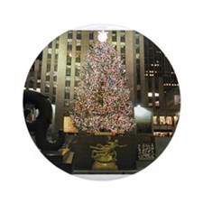 Christmas In The City Ornament (Round)