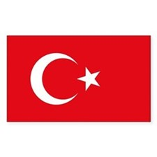 Turkey Flag Decal