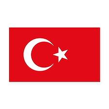 Turkey Flag Rectangle Car Magnet