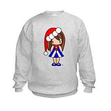 Cute Christmas Cuban Girl Sweatshirt