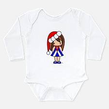 Cute Christmas Cuban Girl Body Suit